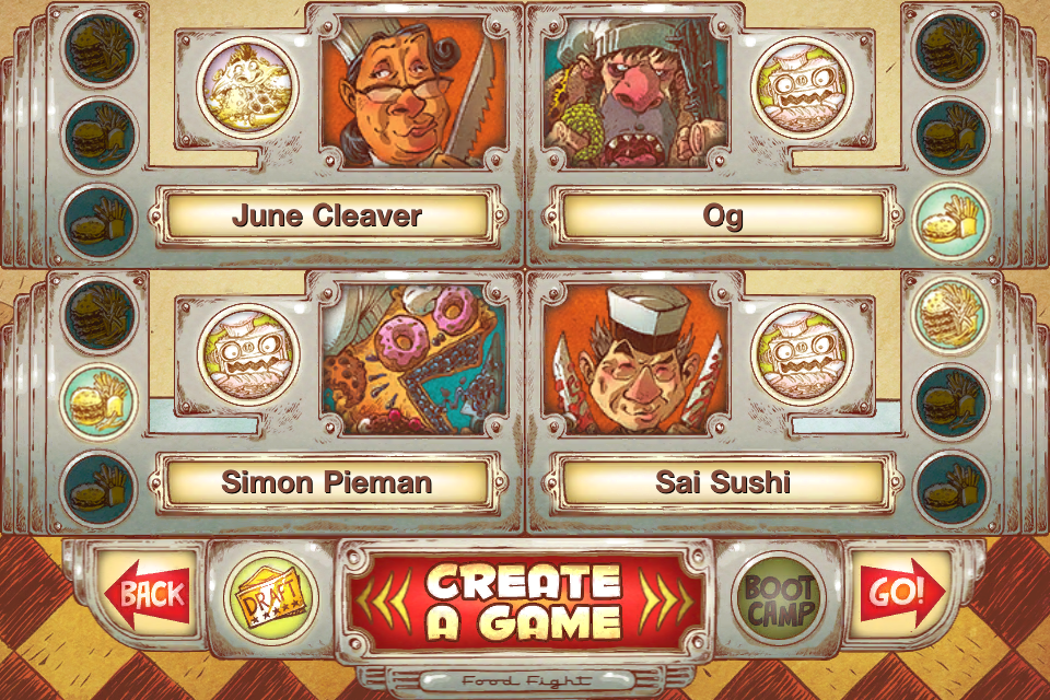 Screenshot Food Fight iOS